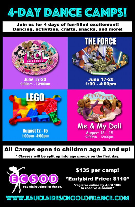 Dance Camps at ECSOD